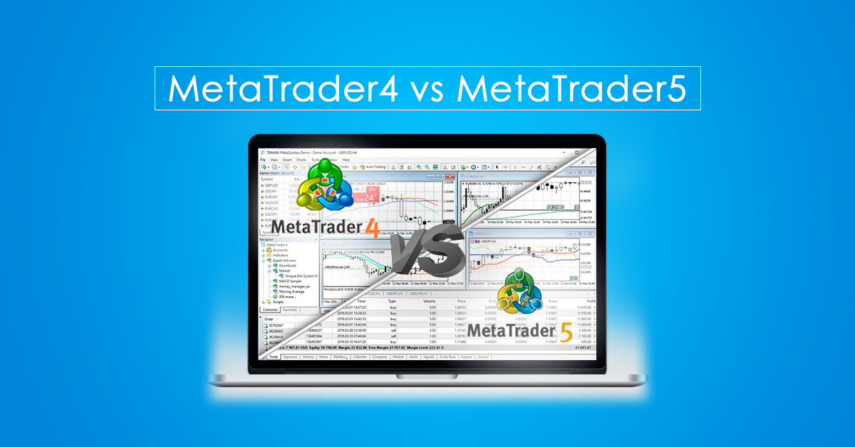 MT4 vs MT5 (MetaTrader4 vs MetaTrader5)