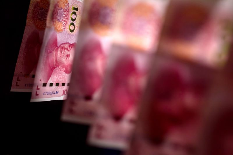 Yuan Plunges (USD/CNY)